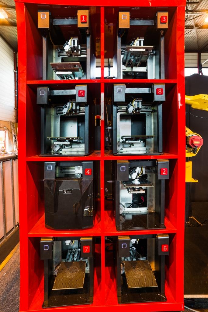 Festival Robotique de Cachan - robot Photo 3D