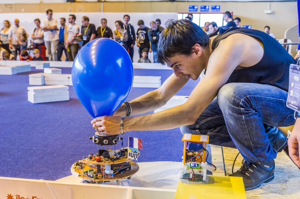 Concours de robotique 2016